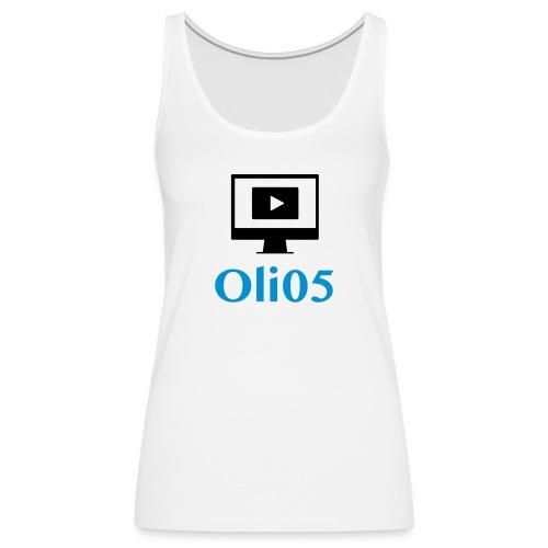 Oli05 Original logo - Premium singlet for kvinner