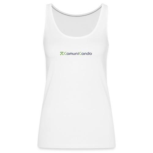 CamuniCando - Canotta premium da donna