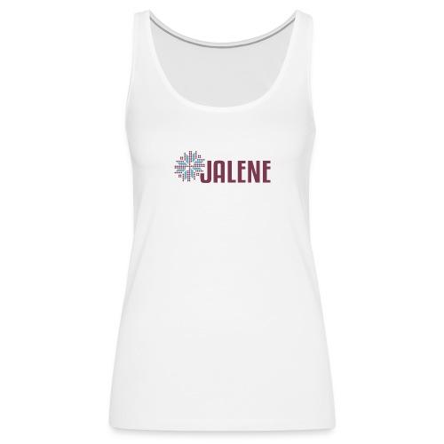 Logo Jalene - Frauen Premium Tank Top