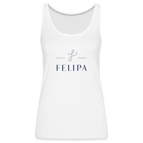 felipa Logo print - Frauen Premium Tank Top