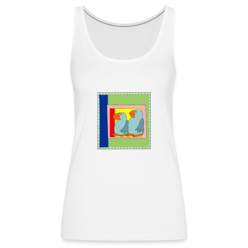 Colorart1 - Canotta premium da donna