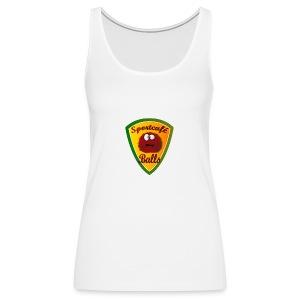 Logo Sportcafé Balls - Vrouwen Premium tank top