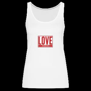 Love Las Canteras - Camiseta de tirantes premium mujer