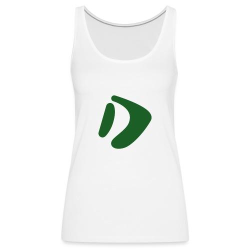Logo D Green DomesSport - Frauen Premium Tank Top