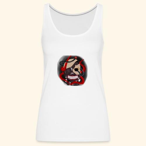 Tokyo Ghoul Tattoo design - Women's Premium Tank Top