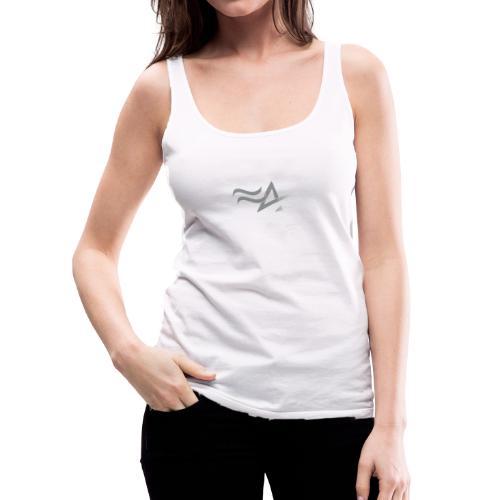 Fitness Addict Logo - Grey - Débardeur Premium Femme
