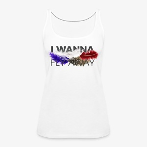 FLY AWAY - Tank top damski Premium