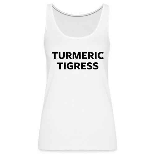Turmeric Tigress - Women's Premium Tank Top