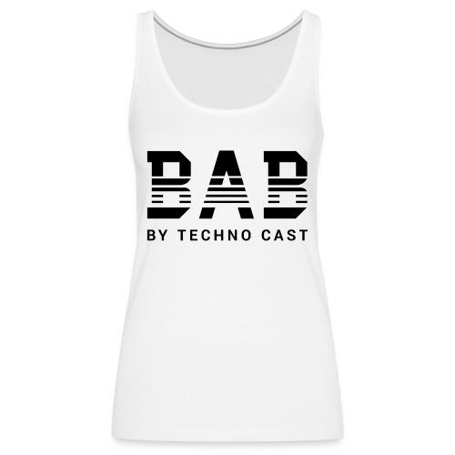 BAB black - Frauen Premium Tank Top