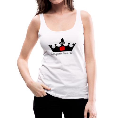 Majestic Skate Co Logo Large - Women's Premium Tank Top