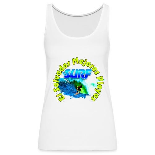 El Salvador surf - Camiseta de tirantes premium mujer