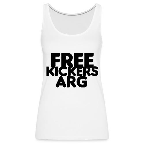 T SHIRT FREEKICKERSARG - Camiseta de tirantes premium mujer