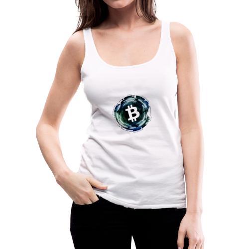 Bitcoin, Kyrptowährung, BTC - Frauen Premium Tank Top