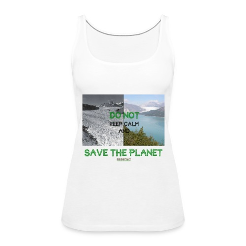 Save the planet - Débardeur Premium Femme