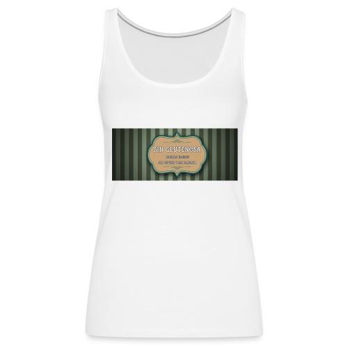 SINGLUTENOSA - Camiseta de tirantes premium mujer