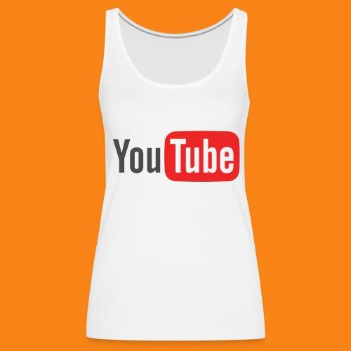 Youtube-logo-2014 - Camiseta de tirantes premium mujer