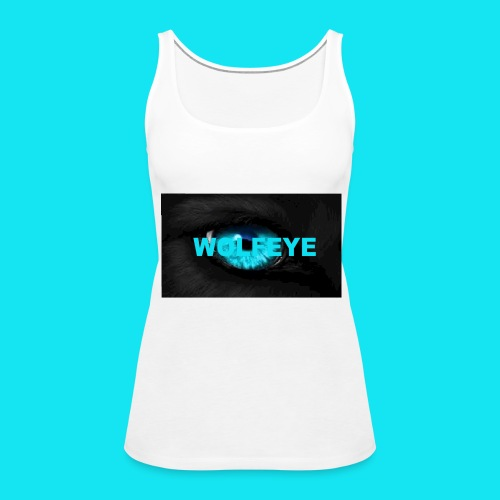 WolfEye T-Shirt - Women's Premium Tank Top