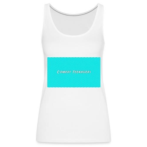 Light Blue Comedy Teenagers T Shirt - Premiumtanktopp dam