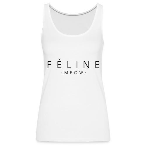 Féline - Camiseta de tirantes premium mujer