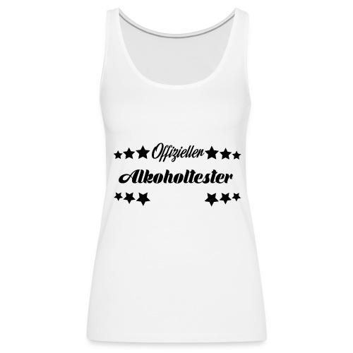 Offizieller Alkoholtester - black - Frauen Premium Tank Top