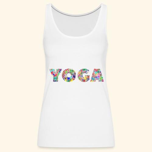 yoga - Frauen Premium Tank Top