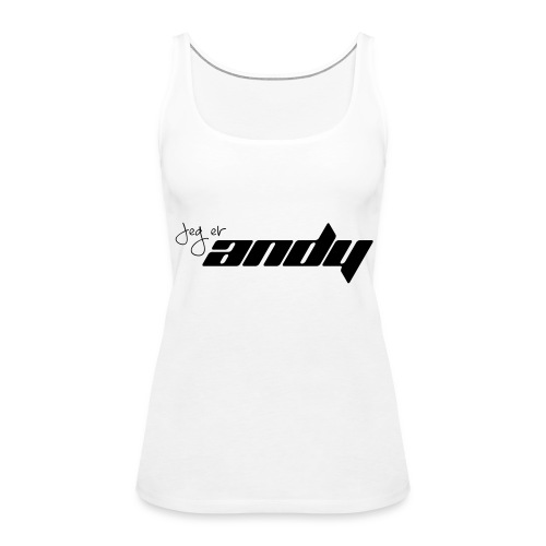 Andy t-shirt - Premium singlet for kvinner