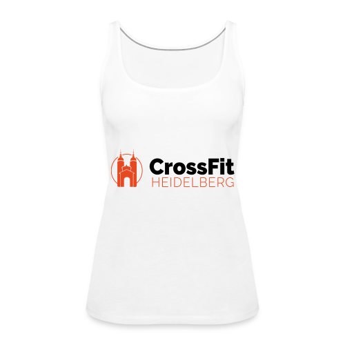 CF HD LOGO DUDE - Frauen Premium Tank Top