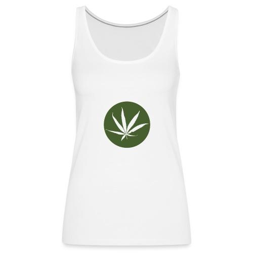 weedlogo - Vrouwen Premium tank top