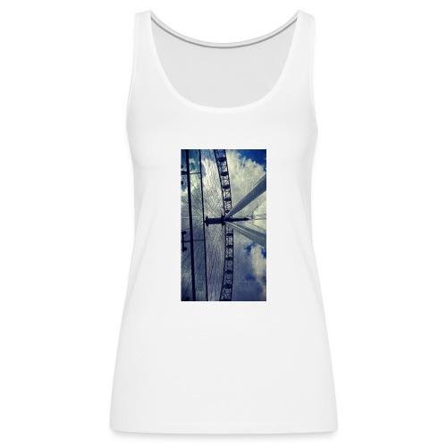 London eye Scratched - Camiseta de tirantes premium mujer