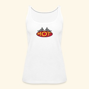 Mean OldTimers Logo T - Women's Premium Tank Top
