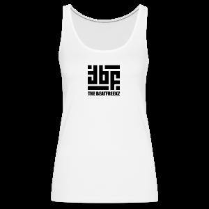 the beatfreekz logo 3 black - Frauen Premium Tank Top