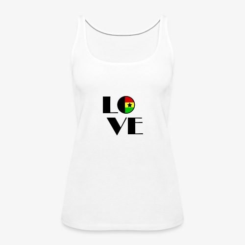 Love Ghana - Women's Premium Tank Top