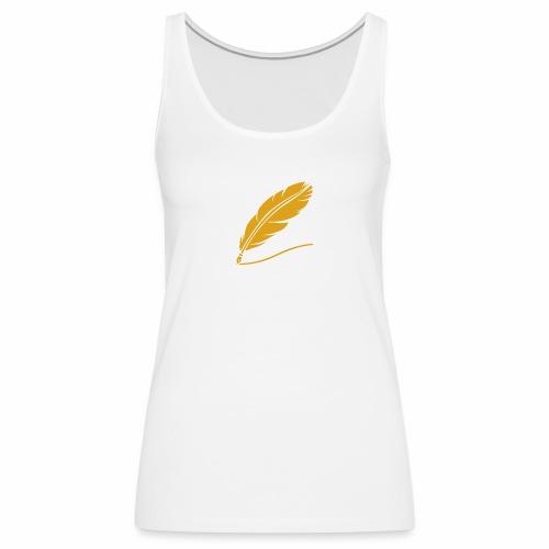 Pluma - Camiseta de tirantes premium mujer