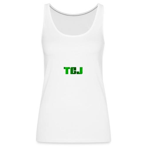 TGJ OFFICIAL LOGO - Dame Premium tanktop