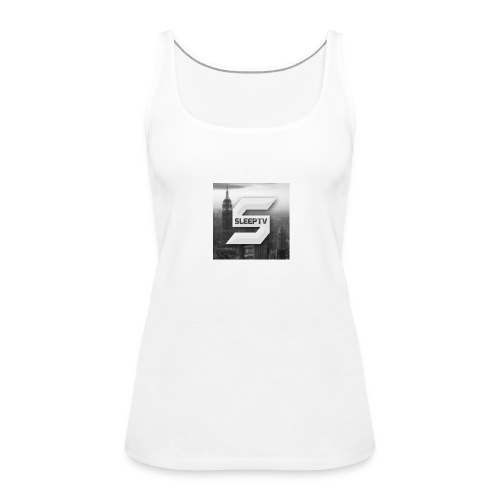 SleepTV Logo - Women's Premium Tank Top
