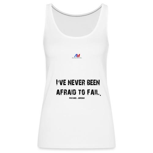 Motivational charged clothing Michael Jordan BLACK - Frauen Premium Tank Top