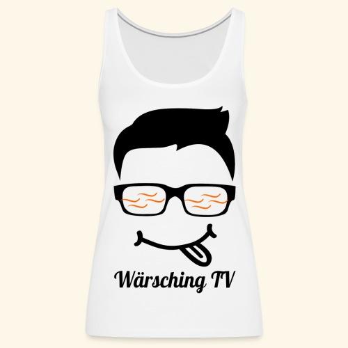 Logo WaerschingTV - Frauen Premium Tank Top