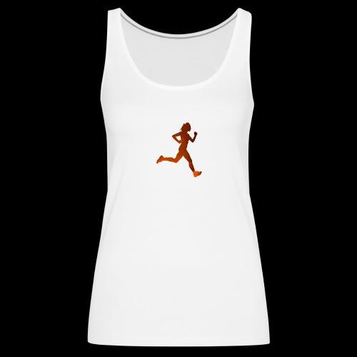 Run like it's Lava - Frauen Premium Tank Top
