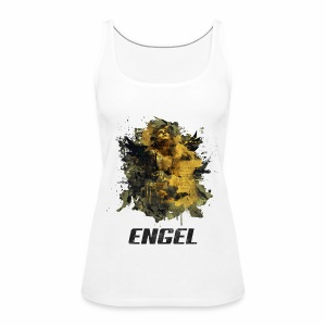 Engel - Golden Grunge - Frauen Premium Tank Top