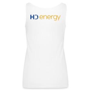 Energy HD-logo - Vrouwen Premium tank top