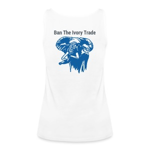 Ban The Ivory Trade - Frauen Premium Tank Top