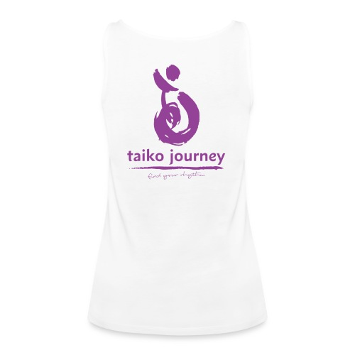 Taiko Journey PURPLE RHYTHM - Women's Premium Tank Top
