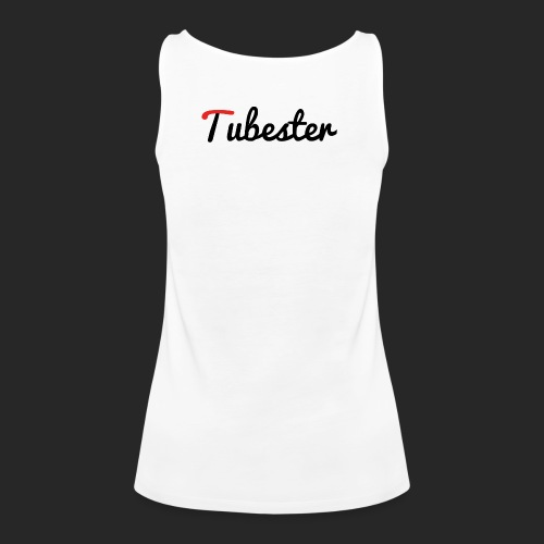 Tubester font - Women's Premium Tank Top