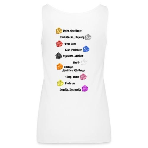 flower code - Women's Premium Tank Top
