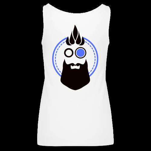 Parrattomat Paapat Logo - Naisten premium hihaton toppi