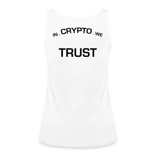 In Crypto we trust - Vrouwen Premium tank top