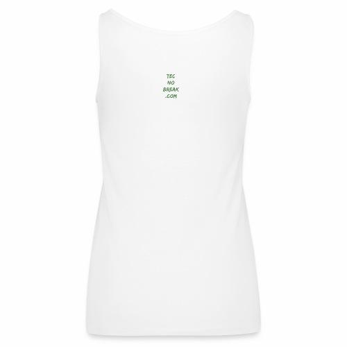 TecnoBreak Verde - Camiseta de tirantes premium mujer