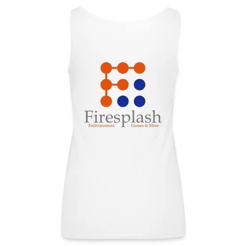 Firesplash Entertainment Logo - Frauen Premium Tank Top