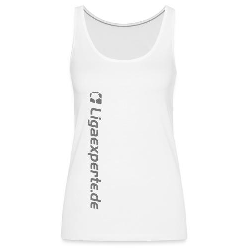 ligaexperte logo schriftzug fertig - Frauen Premium Tank Top