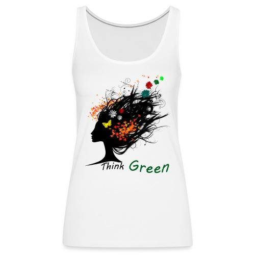 think_green - Canotta premium da donna
